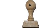 Holzstempel 10 mm Länge bis 60 mm Breite gestalten