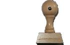 Holzstempel 15 mm Länge bis 60 mm Breite gestalten