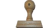 Holzstempel 20 mm Länge bis 100 mm Breite gestalten