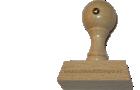 Holzstempel 22 mm Länge bis 50 mm Breite gestalten