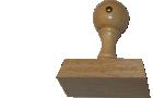 Holzstempel 35 mm Länge bis 100 mm Breite gestalten