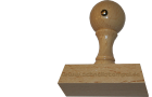 Holzstempel 30 mm Länge bis 70 mm Breite gestalten