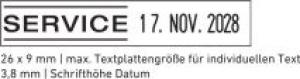 4813 Printy Classic Datumstempel+Text Datum Rechts