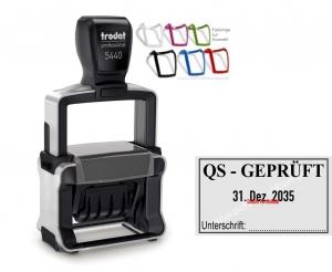 5440 Trodat Professional 4.0 Qualitätskontrolle-Qualitätssicherung-Unterschrift