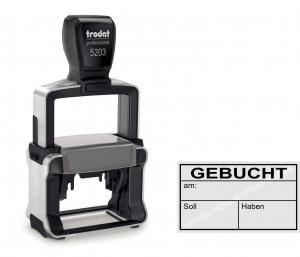 5203 Trodat Professional 4.0 Gebucht am Soll Haben