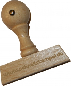 Holzstempel 8 x 60 mm