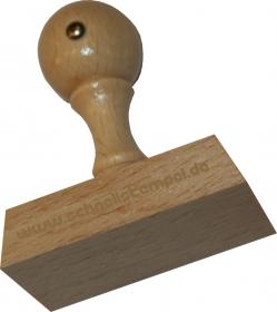 Holzstempel 35 x 60 mm