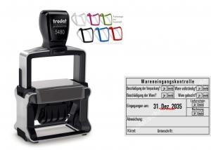 5480 Trodat Professional 4.0 NEU Wareneingangskontrolle Abweichung Ware gebucht