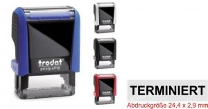 4910 Stempel von Trodat TERMINIERT