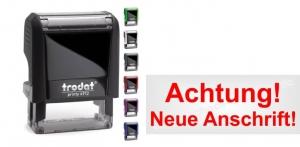 4912 Stempel Trodat Printy Achtung Neue Anschrift!