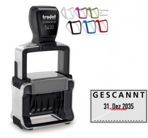 5430 Stempel Trodat Professional 4.0 Gescannt