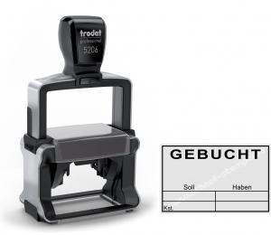 5206 Stempel Trodat Professional Gebucht Soll Haben Kostenstelle