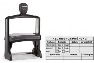5212 Trodat Professional Kontierungs-Tabellenstempel Rechnungsprüfung Technisch Einkauf FIBU