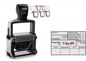 5480 Trodat Professional 4.0 NEU Rechnung Zahlung Umlagefähig