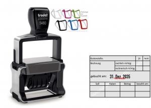 5480 Trodat Professional 4.0 NEU Stempel Rechnung Kostenstelle
