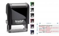 4913 Trodat Printy IBAN SWIFT Stempel für 2. Bankverbindungen