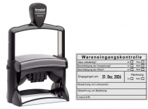 54110 Trodat Professional Wareneingangskontrolle Abweichungen