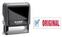 4912 Trodat Office Printy ORIGINAL mit roten Schriftzug und blauen Symbol