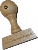 Holzstempel 8 x 50 mm