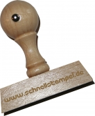 Holzstempel 12 x 60 mm