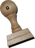 Holzstempel 18 x 40 mm