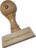 Holzstempel 20 x 50 mm