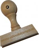 Holzstempel 20 x 60 mm