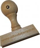 Holzstempel 20 x 80 mm