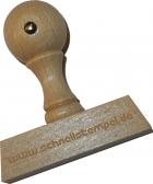 Holzstempel 20 x 100 mm