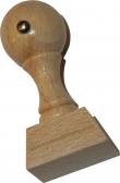 Holzstempel 25 x 30 mm