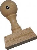 Holzstempel 30 x 45 mm