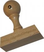 Holzstempel 30 x 60 mm