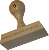 Holzstempel 30 x 70 mm