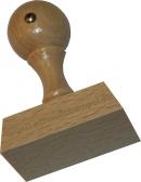 Holzstempel 35 x 50 mm