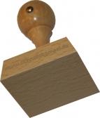 Holzstempel 50 x 50 mm