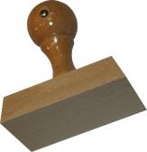 Holzstempel 55 x 80 mm