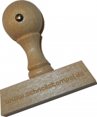 Holzstempel 25 x 100 mm