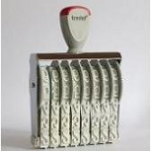 15158 Trodat Classic Ziffernbandstempel 15 mm mit 8 Bänder