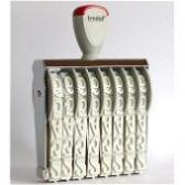 15188 Trodat Classic Ziffernbandstempel 18 mm mit 8 Bänder