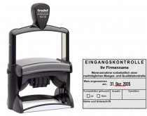 54110 Trodat Professional Eingangskontrolle mit eigenem Firmenname