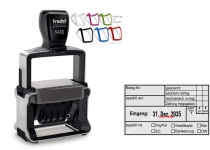 5480 Trodat Professional 4.0 NEU Rechnungsstempel Belegnummer bezahlt mit PayPal Kreditkarte Bar EC Bankeinzug Überweisung