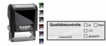 4913 Trodat Printy Stempel Qualitätskontrolle