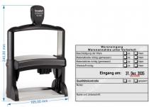 54120 R Trodat Professional - Stempel Wareneingangsstempel Werkstoff Materialgröße