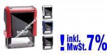 Stempel INKLUSIVE 5% MwSt. • Trodat Printy 4911 •