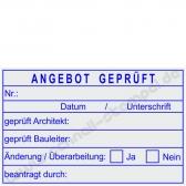 5274 Trodat Professional Angebot geprüft von Architekt und Bauleiter