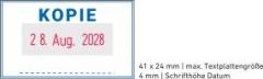 5430 OFFICE Professional Stempel mit Standard-Textplatte • KOPIE •