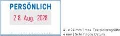 5430 OFFICE Professional Stempel mit Standard-Textplatte • PERSÖNLICH •