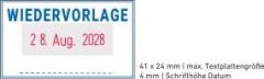 5430 OFFICE Professional Stempel mit Standard-Textplatte • WIEDERVORLAGE •