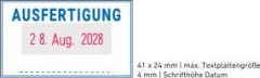 5430 OFFICE Professional Stempel mit Standard-Textplatte • AUSFERTIGUNG •