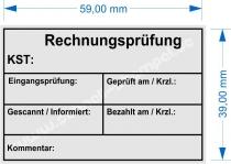 4927 Stempel Trodat Printy Rechnungsprüfung Kostenstelle